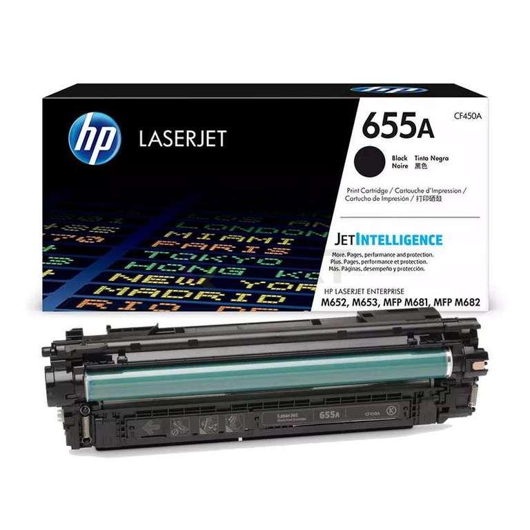 Заправка картриджа HP CF450A (655A)