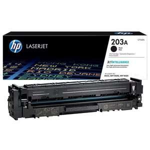 Заправка картриджа HP CF540A (203A)