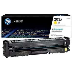 Заправка картриджа HP CF542A (203A)