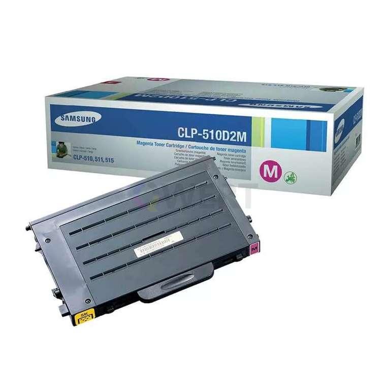 Заправка картриджа Samsung CLP-510D2M