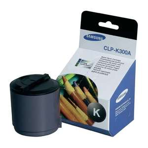 Заправка картриджа Samsung CLP-K300A