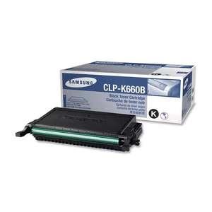 Заправка картриджа Samsung CLP-K660B