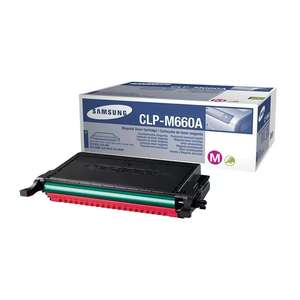 Заправка картриджа Samsung CLP-M660A