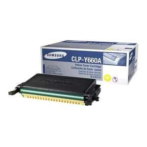 Заправка картриджа Samsung CLP-Y660A