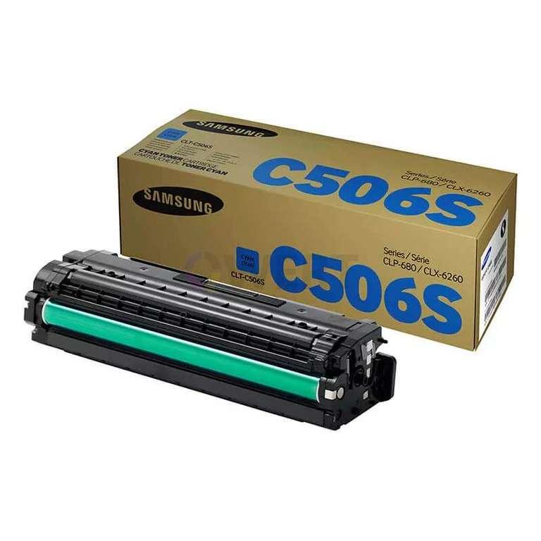 Заправка картриджа Samsung CLT-C506S