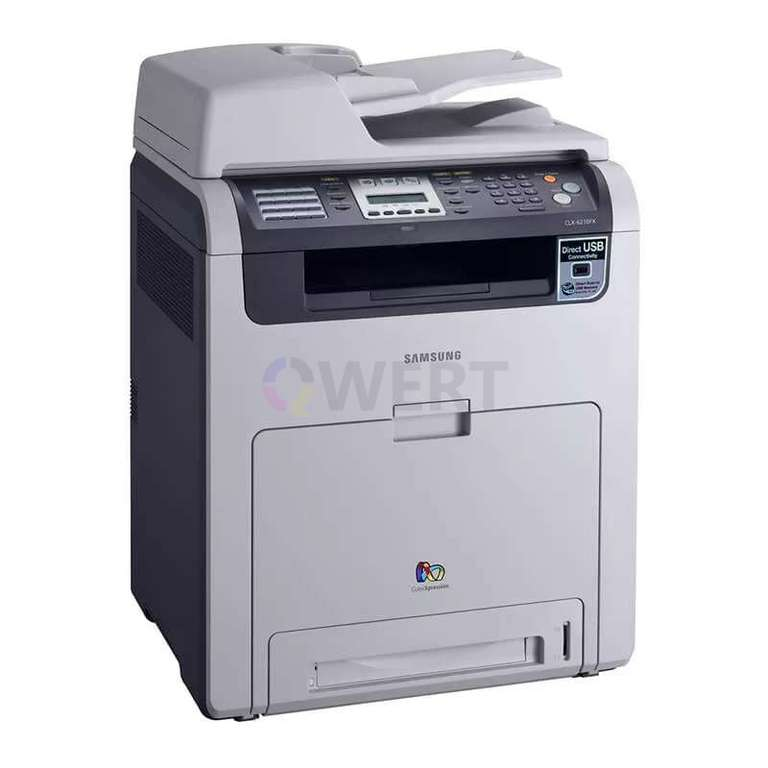 Ремонт принтера Samsung CLX-6240FX