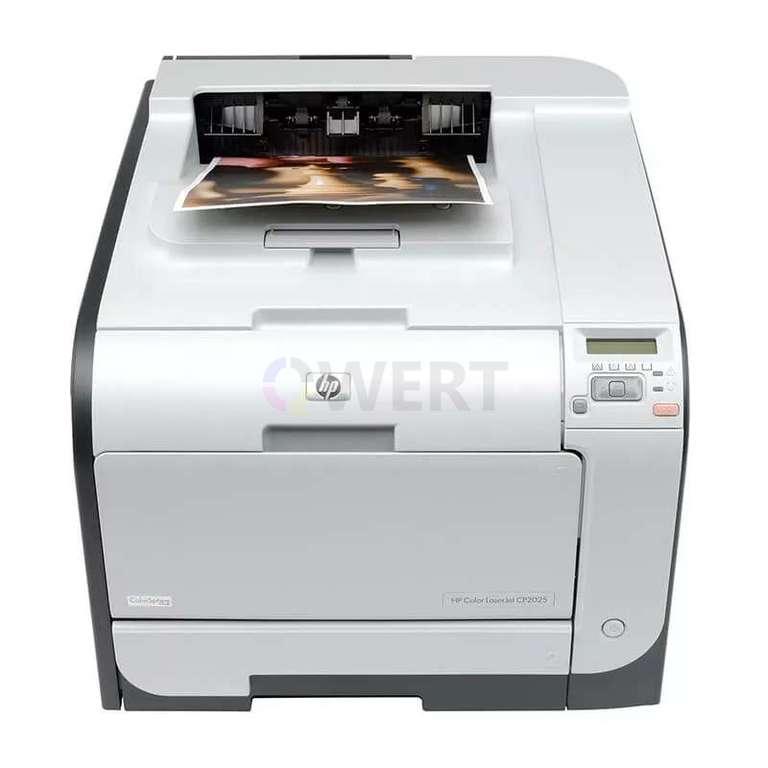 Ремонт принтера HP Color LaserJet CP2025dn
