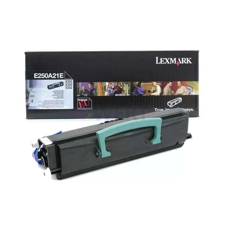 Заправка картриджа Lexmark E250A21E