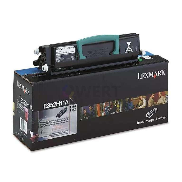 Заправка картриджа Lexmark E352H11E