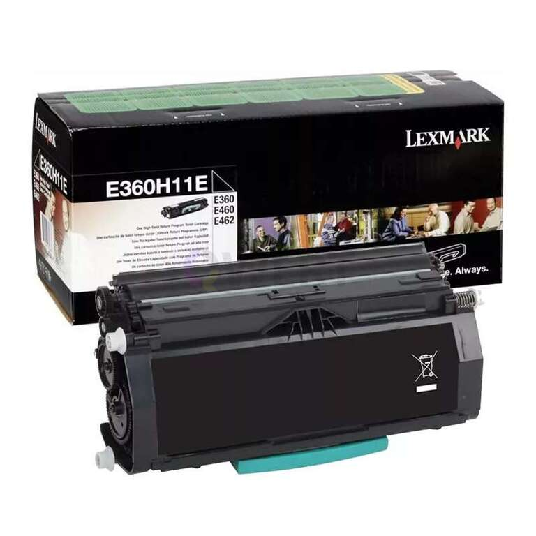 Заправка картриджа Lexmark E360H11E