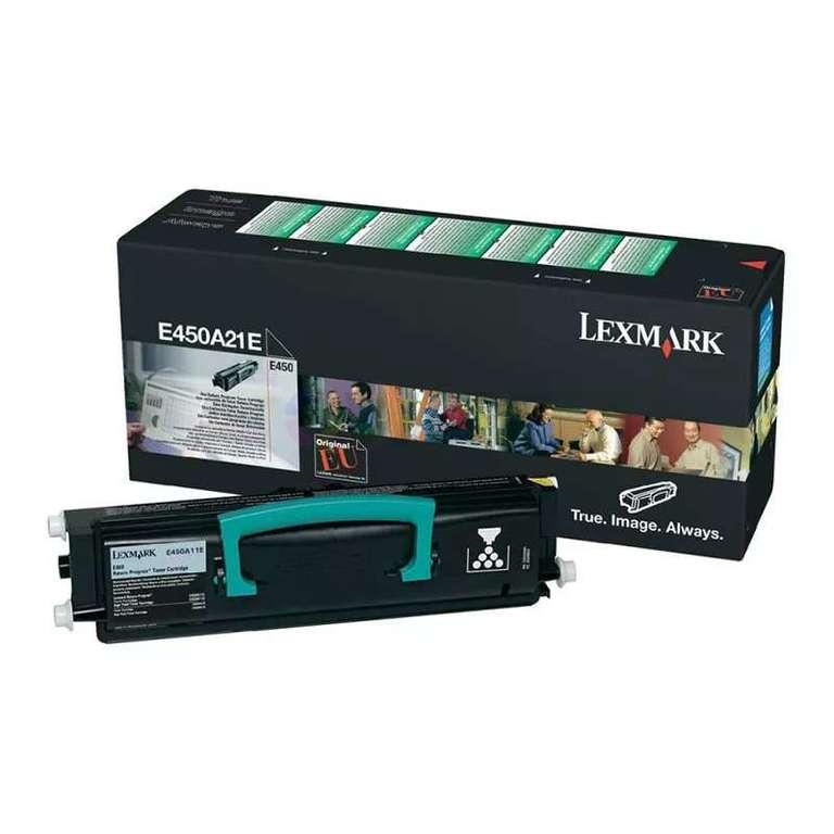 Заправка картриджа Lexmark E450A21E