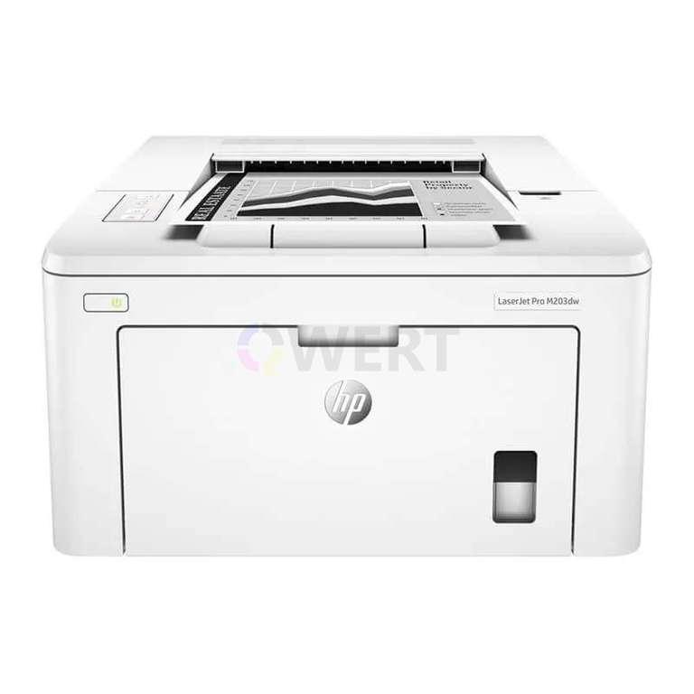 Ремонт принтера HP LaserJet Pro M203dw