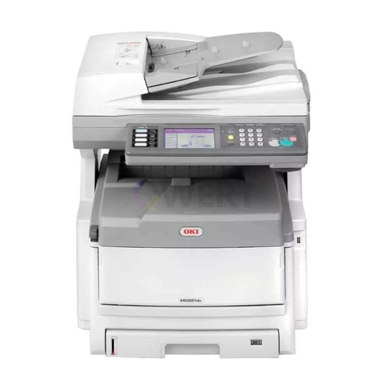 Ремонт принтера OKI MC851dn