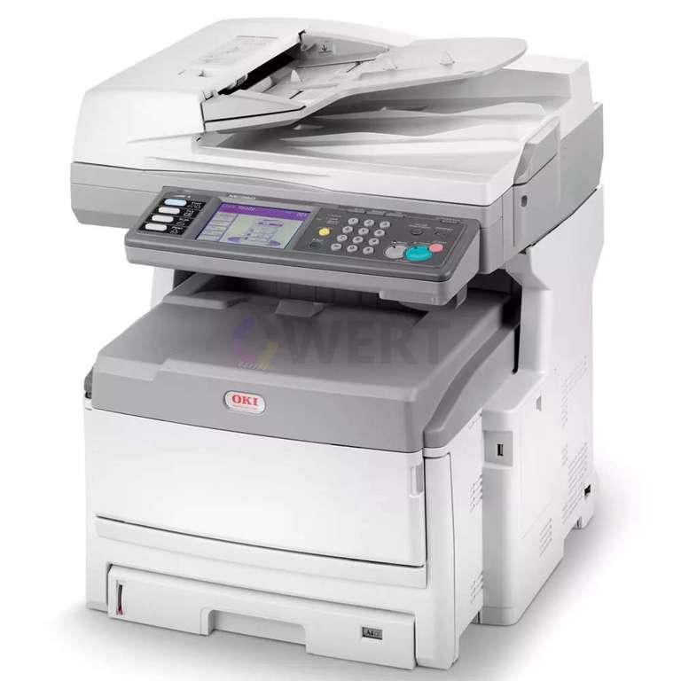 Ремонт принтера OKI MC860dn