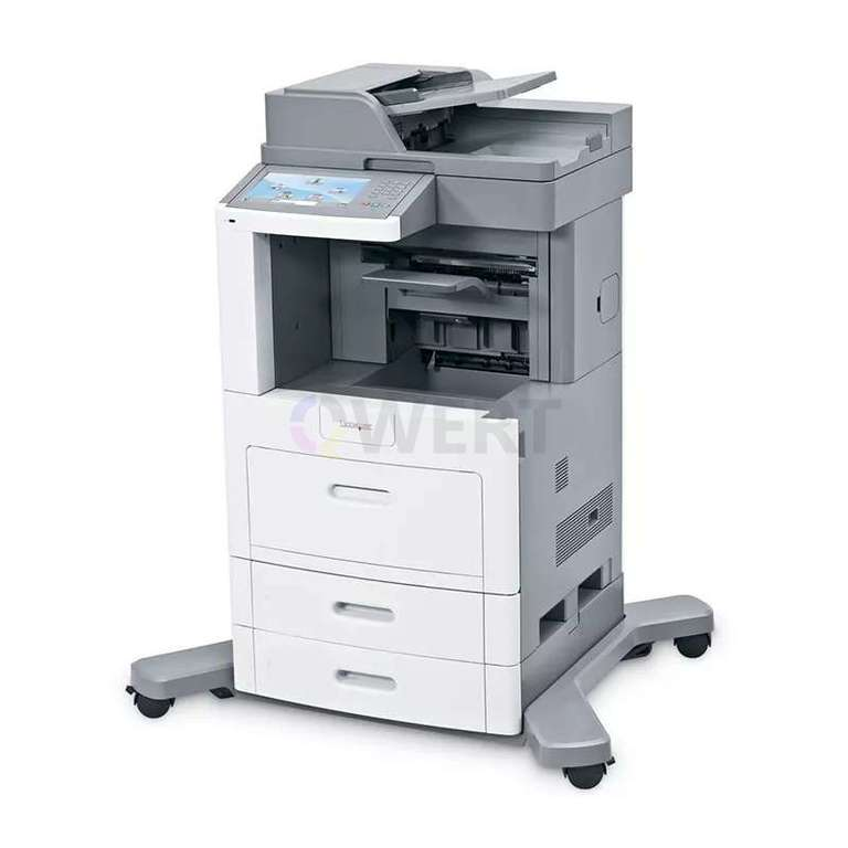 Ремонт принтера Lexmark X658dfe MFP
