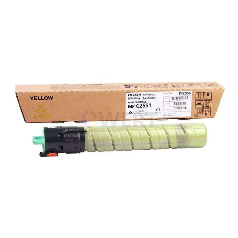 Заправка картриджа Ricoh MP C2551HE (841507)