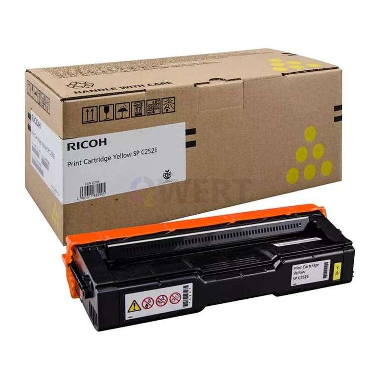 Заправка картриджа Ricoh SP C252E (407534)