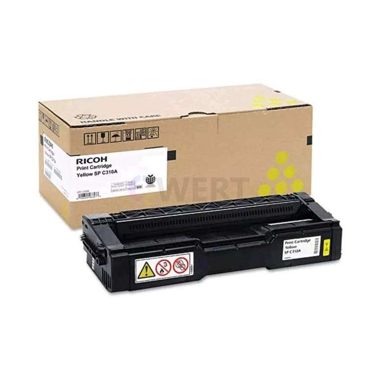 Заправка картриджа Ricoh SP C310HE (406482)