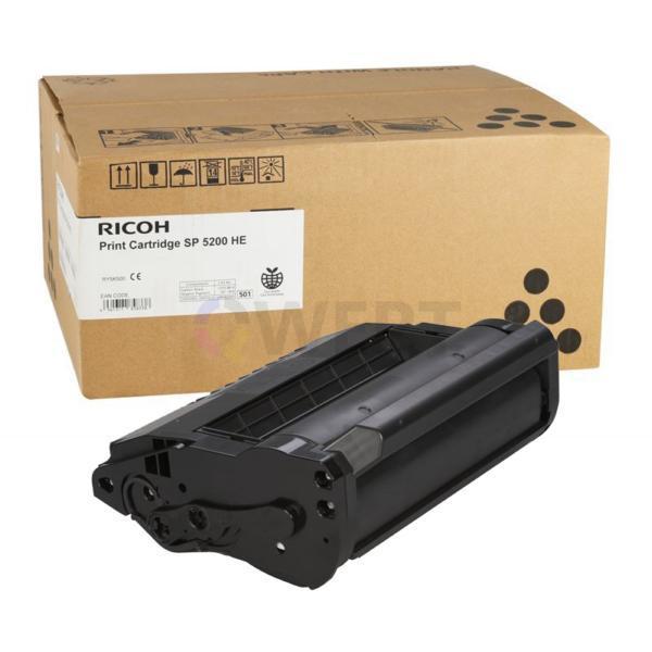 Рециклинг картриджа Ricoh SP 5200 HE