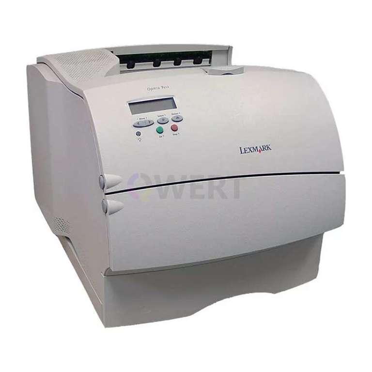 Ремонт принтера Lexmark Optra T612