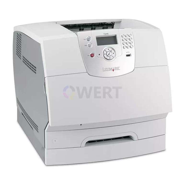 Ремонт принтера Lexmark T640