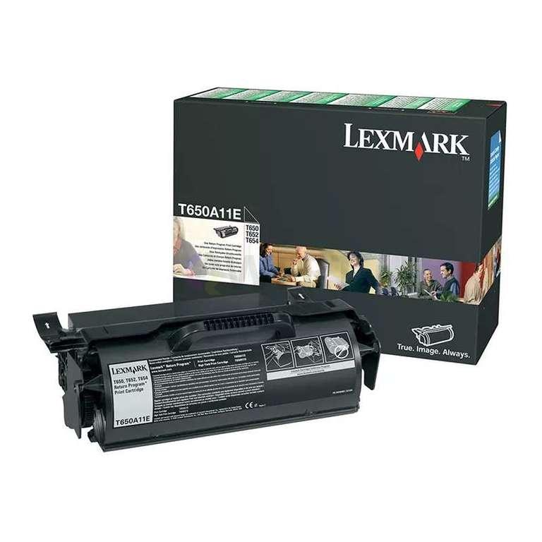 Заправка картриджа Lexmark T650A11E
