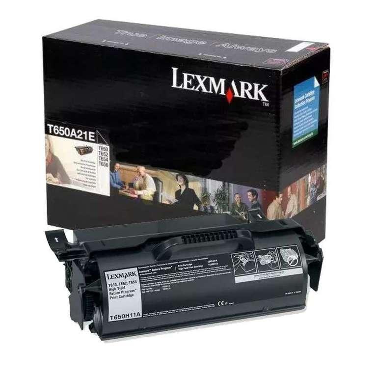 Заправка картриджа Lexmark T650A21E