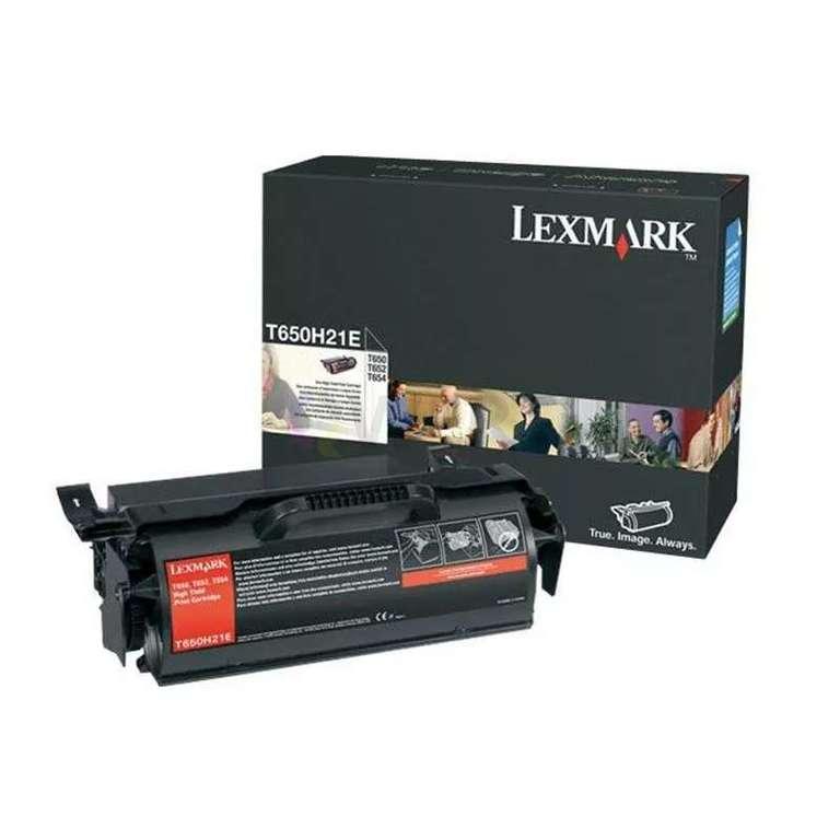 Заправка картриджа Lexmark T650H21E