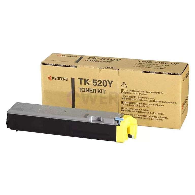 Заправка картриджа Kyocera TK-520Y