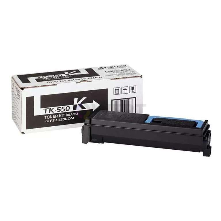 Заправка картриджа Kyocera TK-550K