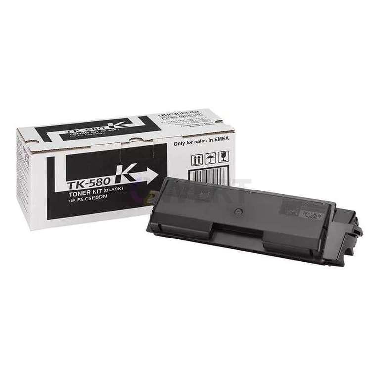 Заправка картриджа Kyocera TK-580K