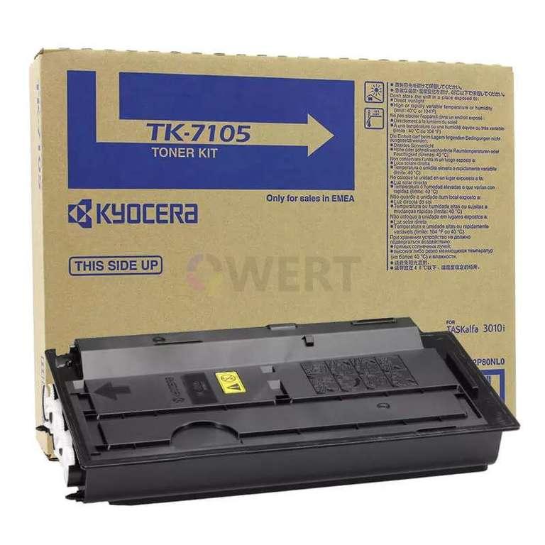 Заправка картриджа Kyocera TK-7105