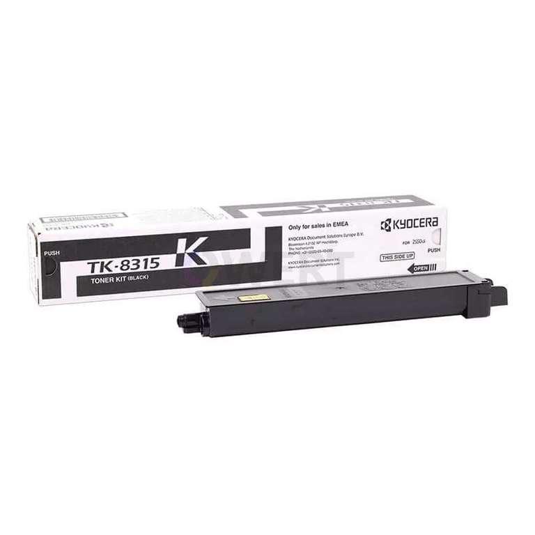 Заправка картриджа Kyocera TK-8315K