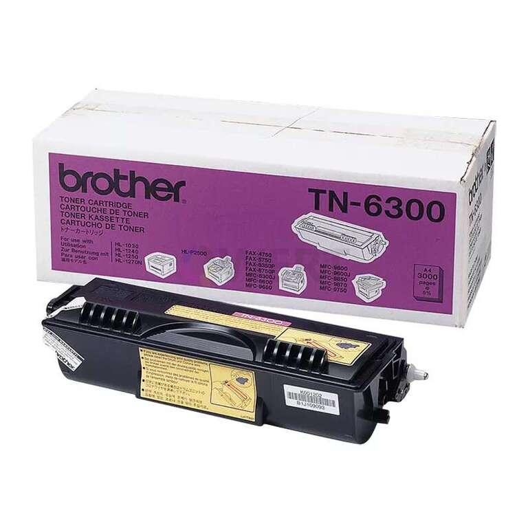 Заправка картриджа Brother TN-6300