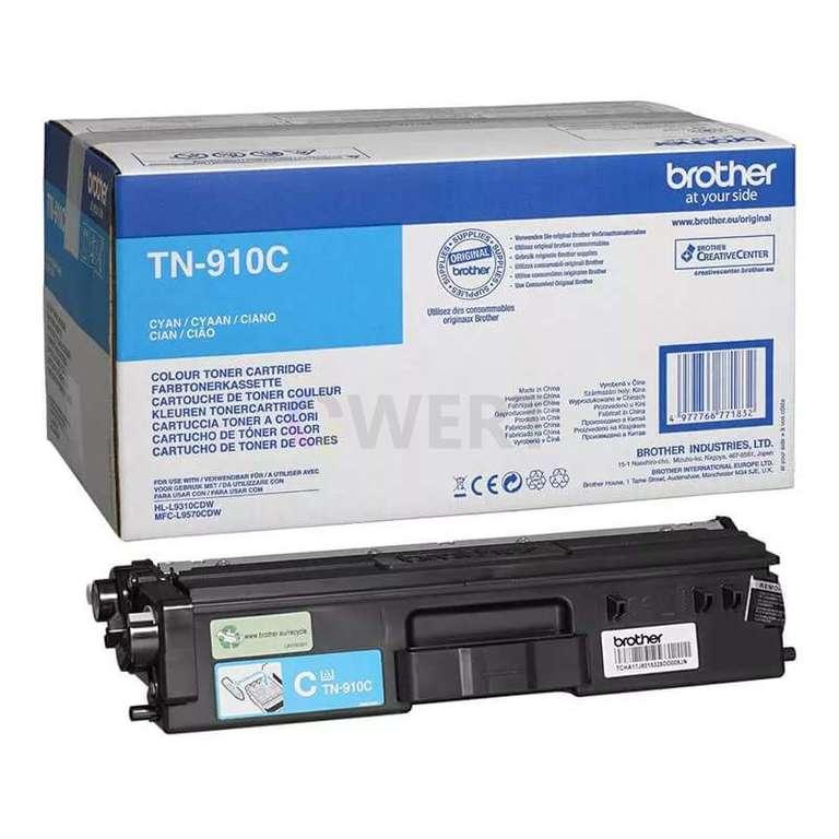 Заправка картриджа Brother TN-910C