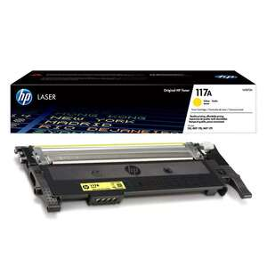 Заправка картриджа HP W2072A (117A)