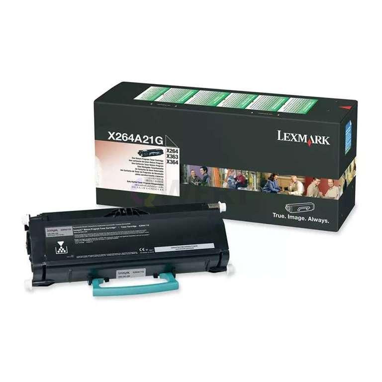 Заправка картриджа Lexmark X264A21G