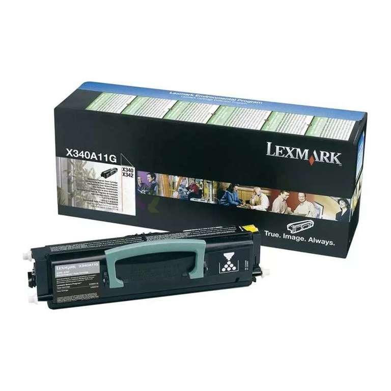 Заправка картриджа Lexmark X340A11G