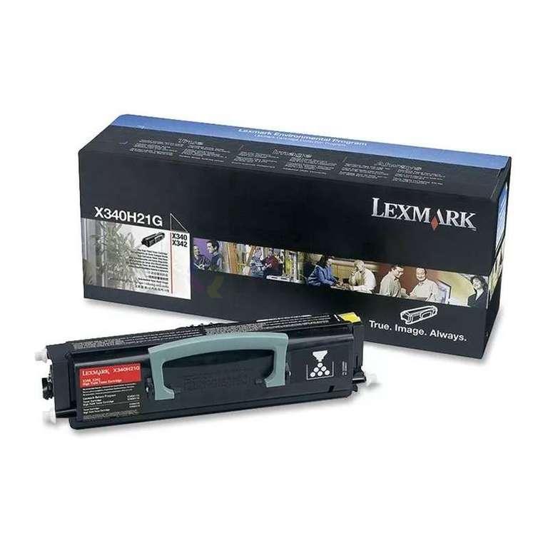 Заправка картриджа Lexmark X340H21G