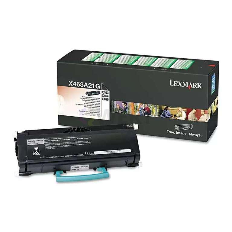 Заправка картриджа Lexmark X463A21G