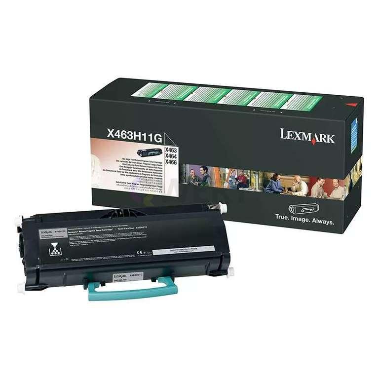 Заправка картриджа Lexmark X463H11G