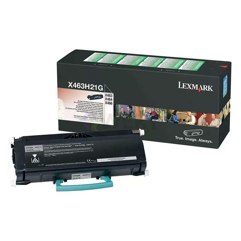 Заправка картриджа Lexmark X463H21G