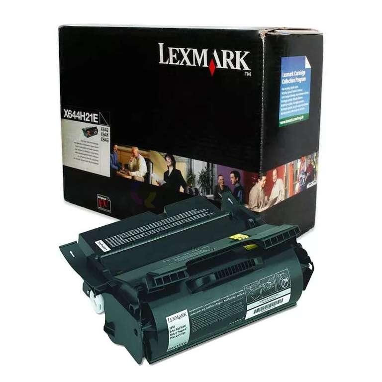 Заправка картриджа Lexmark X644H21E