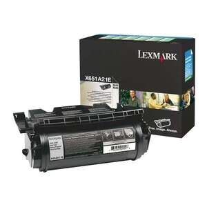Заправка картриджа Lexmark X651A21E