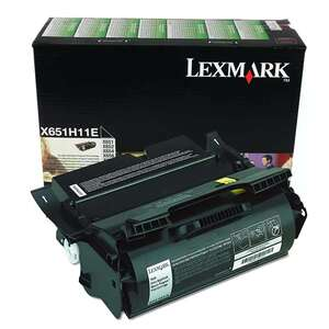 Заправка картриджа Lexmark X651H11E