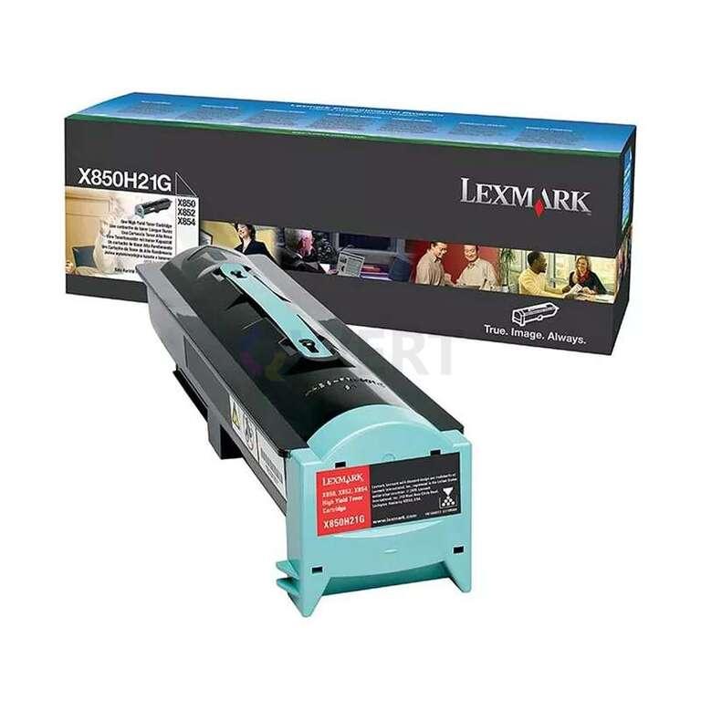 Заправка картриджа Lexmark X850H21G