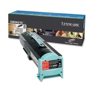 Заправка картриджа Lexmark X860H21G